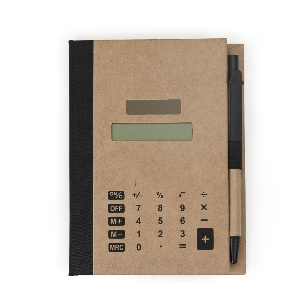 Bloco de Anotações com Autoadesivos e Calculadora-LB15-33