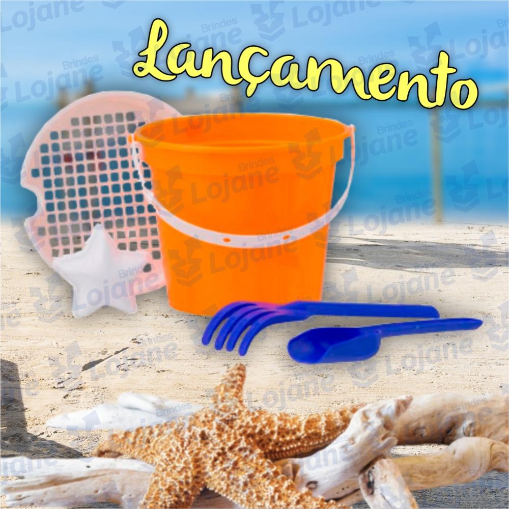 Baldinho de praia Infantil-LB42-03