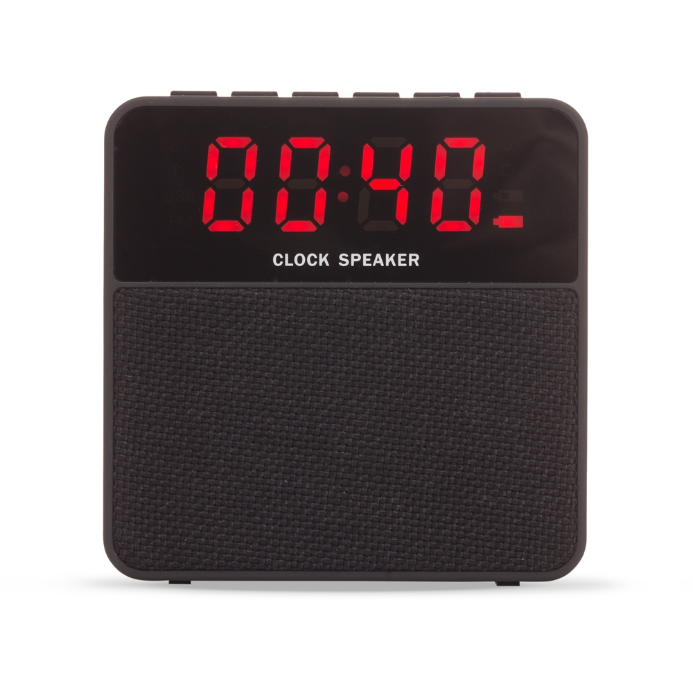 Caixa de Som Bluetooth com Relógio Digital-LB13-05