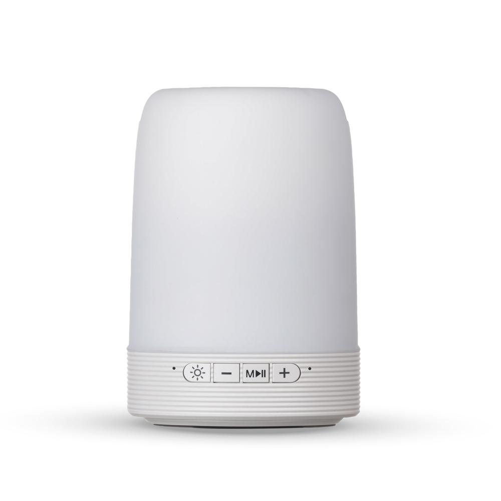 Caixa de Som Multimídia com Porta Caneta e Luminária-LB13-02