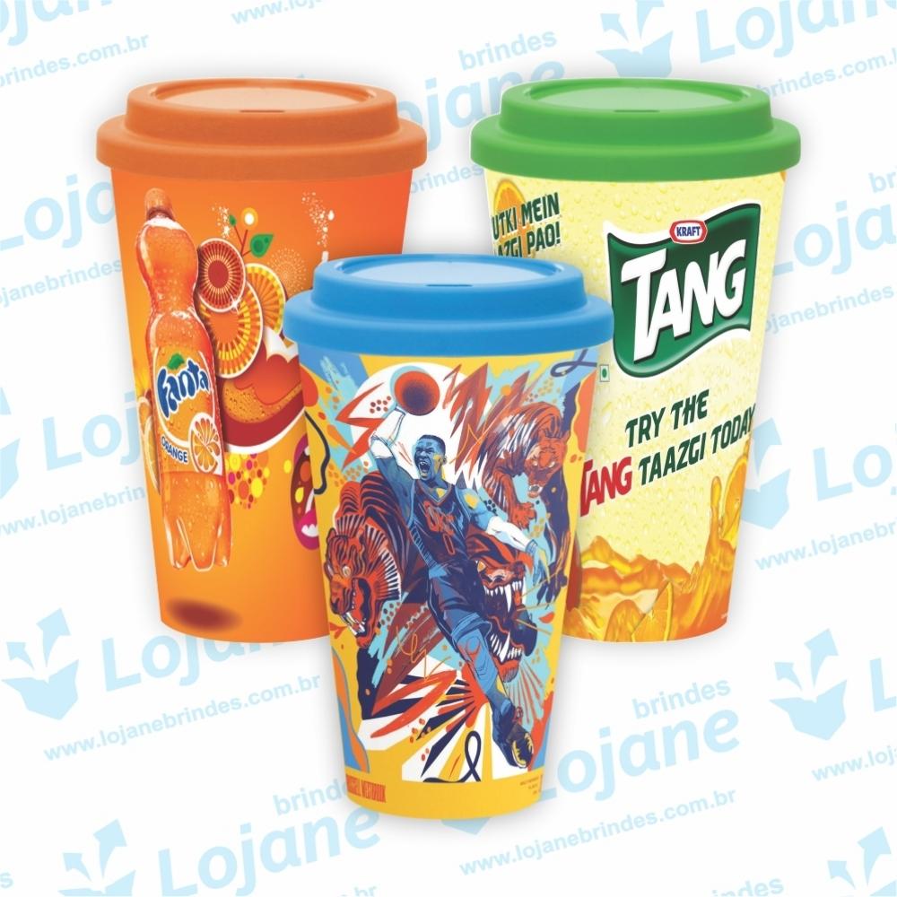 Copo Cromia Starbucks para Café, Suco e Bebidas em geral In Mold Label-LB1-16