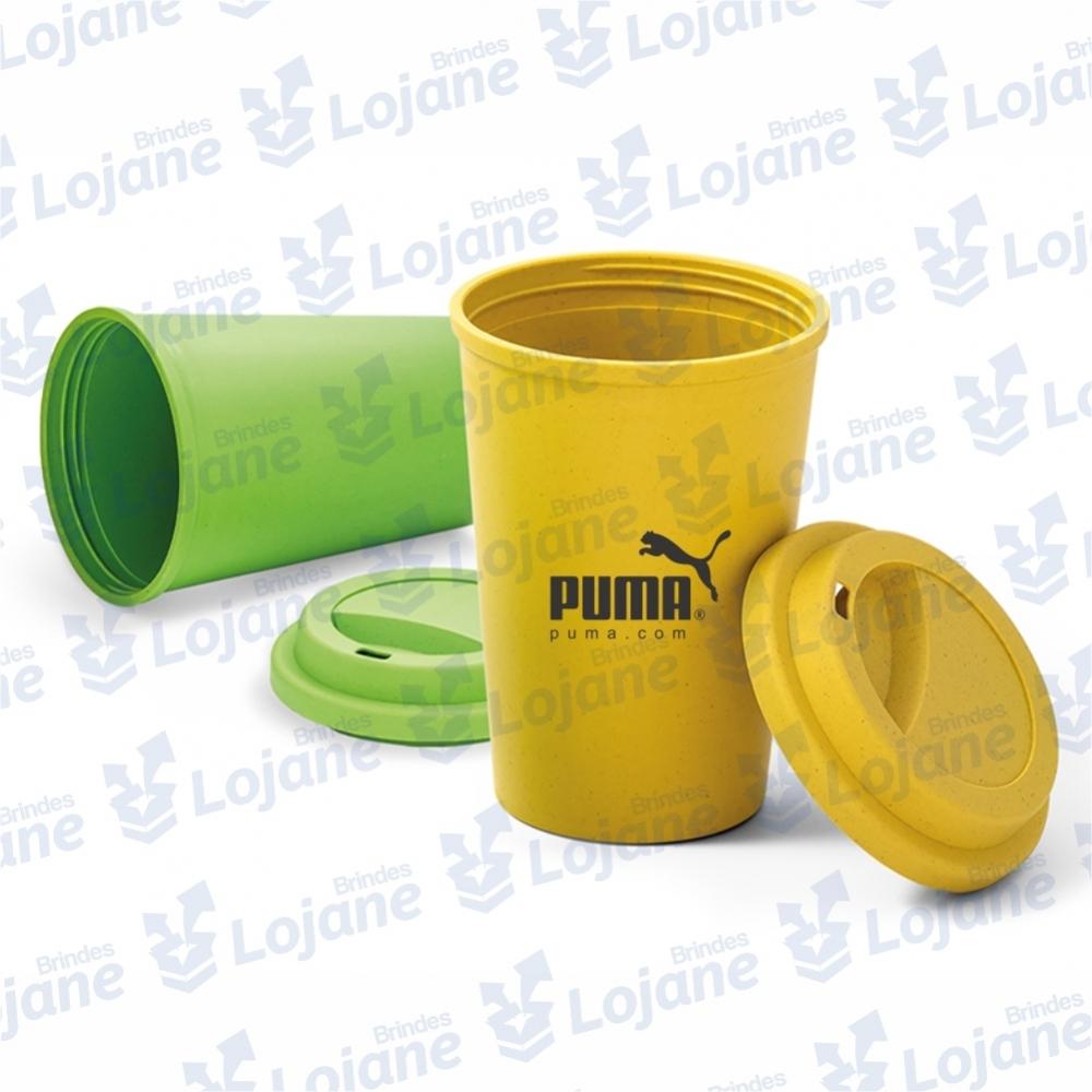 Copo para viagem em Fibra de bambu 450ml-LB1-40