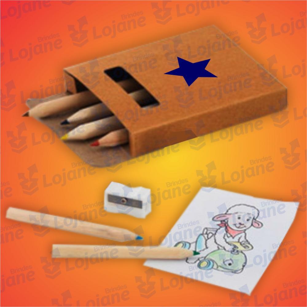 Kit Lápis de cor para Colorir-LB42-06