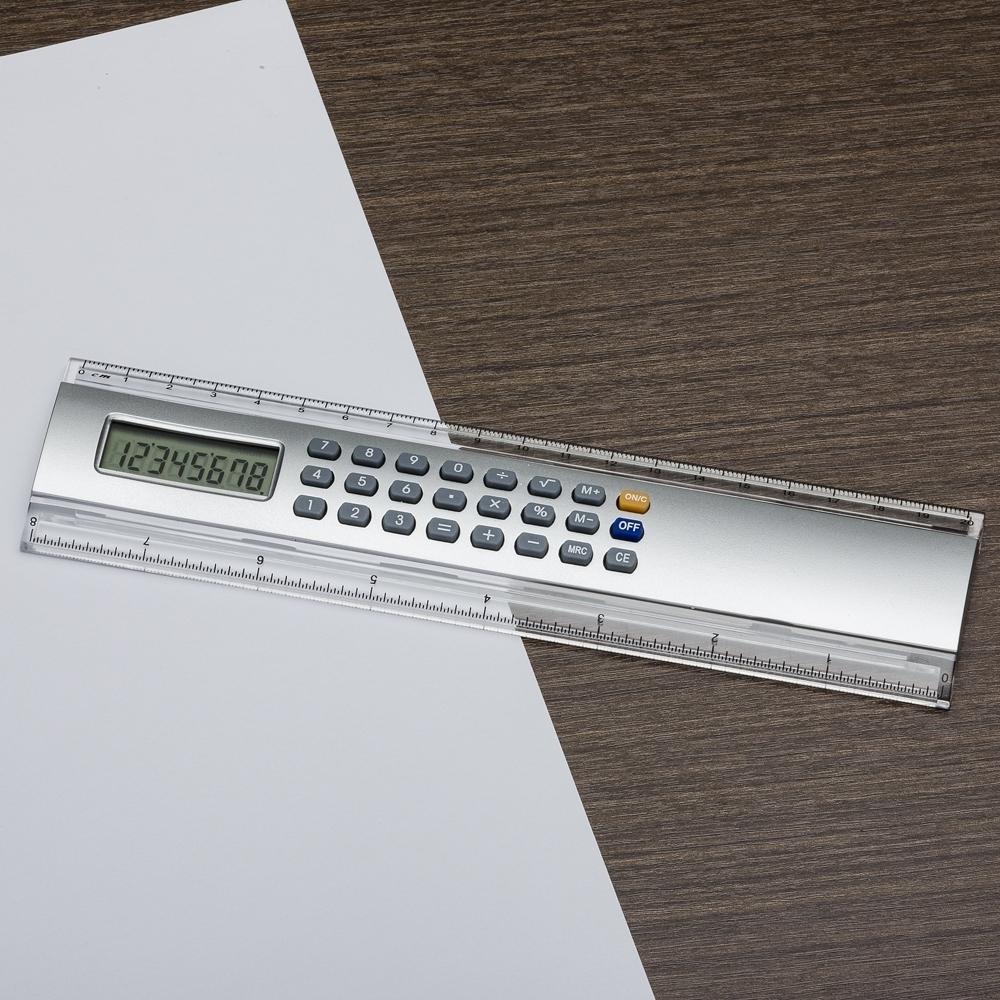 Régua 20cm com Calculadora-LB29-01