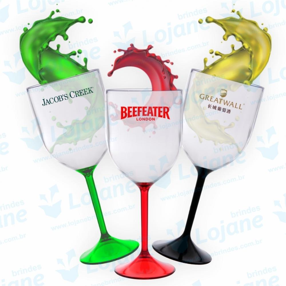 Taça de Vinho Bicolor-LB3-05